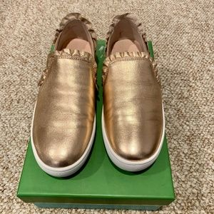 Kate Spade Gold Lilly Sneaker